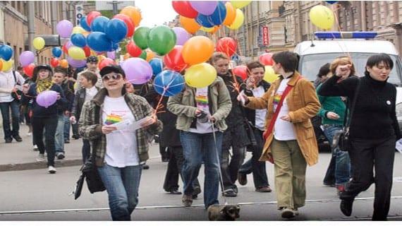 Rusia LGBT homofobia